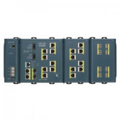 Cisco - IE-3000-4TC - Cisco 3000-4TC Industrial Ethernet Switch - 4 x Expansion Slot, 2 x SFP (mini-GBIC) - 4 x 10/100Base-TX, 2 x 10/100/1000Base-T