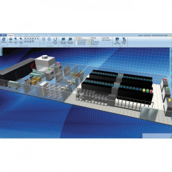 Eaton Electrical - VCOM-100 - Eaton Visual Capacity Optimization Manager - License - 100 Floor-mounted Asset - PC