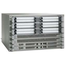 Cisco - ASR1006-10G-SHA/K9 - Cisco ASR 1006 Aggregation Service Router - 12 x Shared Port Adapter, 2 x Route Processor, 2 x Embedded Service Processor