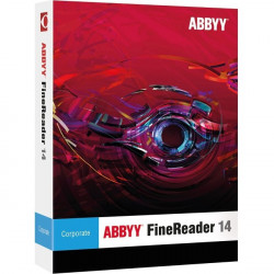 Abbyy - FRCFWE14ECAM - ABBYY FineReader v.14.0 Corporate Campus - Perpetual Site License - 1 User - Academic - Electronic - Russian, Italian, German, Swedish, Dutch, French, English, Spanish, Portuguese (Brazilian), Korean, Danish, ... - PC