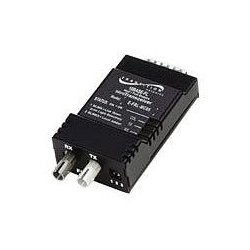 Transition Networks - E-FRL-MC05(SM) - Transition Networks 10BASE-FL Full/Half-Duplex Transceiver - 1 x DB-15 , 1 x ST Duplex - 10Base-FL