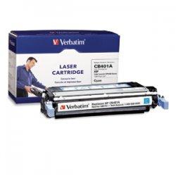 Verbatim / Smartdisk - 96754 - Verbatim Remanufactured Laser Toner Cartridge alternative for HP CB401A Cyan - Cyan - Laser - 7500 Page - 1 Pack