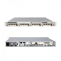 Supermicro - AS-1020A-TB - Supermicro A+ Server 1020A-TB Barebone System - AMD 8132 - Socket 940 - Opteron (Dual-core) - 1000MHz Bus Speed - 32GB Memory Support - CD-Reader (CD-ROM) - Gigabit Ethernet - 1U Rack