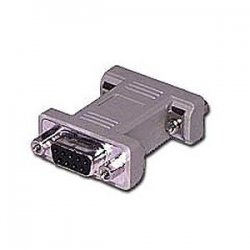 C2G (Cables To Go) - 02769 - C2G DB9 F/F Gender Changer (Coupler) - 1 x DB-9 Female Serial - 1 x DB-9 Female Serial - Beige