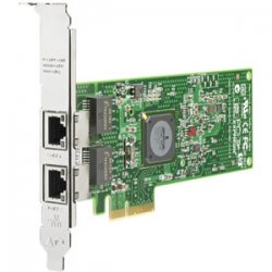 Hewlett Packard (HP) - 458492-B21 - HP NC382T Dual Port Multifunction Gigabit Server Adapter - PCI Express x4 - 2 x RJ-45 - 10/100/1000Base-T - Internal