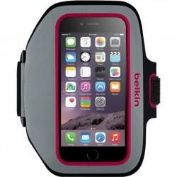 Belkin / Linksys - F8W501-C01 - Belkin Sport-Fit Plus Armband - Arm pack for cell phone - neoprene, Lycra - fuchsia, sidewalk - for Apple iPhone 6