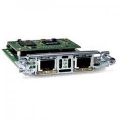 Cisco - VWIC2-2MFT-T1/E1= - Cisco-IMSourcing NEW F/S Second-Generation 2-Port T1/E1 Multiflex Trunk Voice/WAN Interface Card - For Voice, Wide Area Network - 2 x T1/E1 WAN - Category 5 STP/UTP - 197.63 kB/s T1, 262.14 kB/s E12.05 Mbit/s