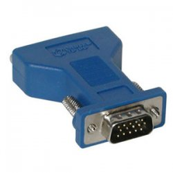C2G (Cables To Go) - 26957 - C2G DVI Female to HD15 VGA Male Video Adapter - 1 x DVI-A Female Video - 1 x HD-15 Male - Black