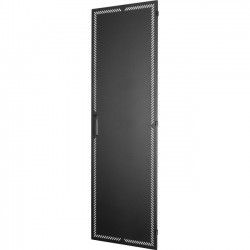 Great Lakes Case and Cabinet - 8404E-24 - Great Lakes Perimeter Vented Steel Door for 84H x 24W Frame - Steel - 84 Height - 24 Width