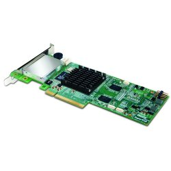 Promise Technology - STEX8768 - Promise SuperTrak STEX8768 8-port SAS RAID Controller - Serial ATA/600 - PCI Express 2.0 x8 - Plug-in Card - RAID Supported - 0, 1, 1E, 5, 6, 10, 50, 60 RAID Level - 2 Total SAS Port(s) - 2 SAS Port(s) Internal - 2 SAS