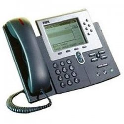 Cisco - CP-7960G-RF - Cisco 7960G IP Phone - 2 x RJ-45 10/100Base-TX