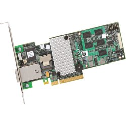 Intel - RS2MB044 - Intel RS2MB044 8-port SAS RAID Controller - Serial ATA/600 - PCI Express 2.0 x8 - Plug-in Card - RAID Supported - 0, 1, 5, 6, 10, 50, 60 RAID Level - 2 Total SAS Port(s) - 1 SAS Port(s) Internal - 1 SAS Port(s) External