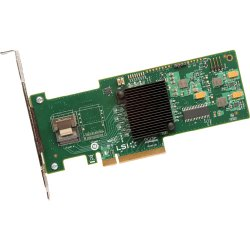 Intel - RS2WC040 - Intel RS2WC040 4-port SAS RAID Controller - Serial ATA/600 - PCI Express 2.0 x8 - Plug-in Card - RAID Supported - 0, 1, 5, 10, 50, JBOD RAID Level - 1 Total SAS Port(s) - 1 SAS Port(s) Internal