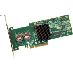 Intel - RS2WC080 - Intel RS2WC080 8-port SAS RAID Controller - Serial ATA/600 - PCI Express 2.0 x8 - Plug-in Card - RAID Supported - 0, 1, 5, 10, 50, JBOD RAID Level - 2 Total SAS Port(s) - 2 SAS Port(s) Internal