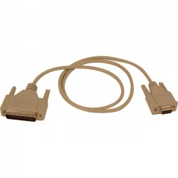 Belkin / Linksys - F2L088-25 - Belkin Pro Series Modem Serial Cable - DB-25 Male Modem - DB-9 Female - 25ft - Gray