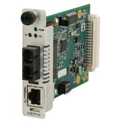 Transition Networks - CFETF1040-110 - Transition Networks Point System CFETF1040-110 Fast Ethernet Media Converter - 1 x RJ-45 - 100Base-TX, 100Base-X - 1 x SFP - Internal