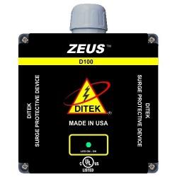 Ditek - D100-120/2083Y - DITEK 100kA/?, 50kA/Mode Surge Protective Device - 120 V AC, 208 V AC Input - 120 V AC Output