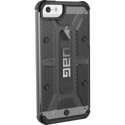 Urban Armor Gear - IPH5S/SE-ASH - Urban Armor Gear Ash Case for iPhone SE & 5/5S - iPhone 5, iPhone 5S, iPhone SE - Ash, Black - Rubberized