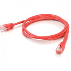 C2G (Cables To Go) - 19386 - C2G-100ft Cat5e Snagless Unshielded (UTP) Network Patch Cable - Red - Category 5e for Network Device - RJ-45 Male - RJ-45 Male - 100ft - Red