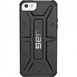 Urban Armor Gear - IPH5S/SE-BLK - Urban Armor Gear Black Case for iPhone SE & 5/5S - iPhone 5, iPhone 5S, iPhone SE - Black