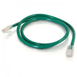 C2G (Cables To Go) - 25070 - C2G-1ft Cat5e Non-Booted Unshielded (UTP) Network Patch Cable - Green - Category 5e for Network Device - RJ-45 Male - RJ-45 Male - 1ft - Green