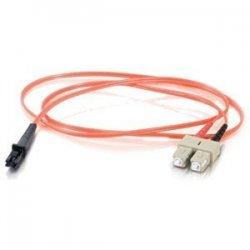 C2G (Cables To Go) - 33152 - 20m MTRJ-SC 62.5/125 OM1 Duplex Multimode PVC Fiber Optic Cable - Orange - Fiber Optic for Network Device - SC Male - MTRJ Male - 62.5/125 - Duplex Multimode - OM1 - 20m - Orange