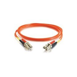 C2G (Cables To Go) - 33180 - 30m LC-LC 62.5/125 OM1 Duplex Multimode PVC Fiber Optic Cable - Orange - Fiber Optic for Network Device - LC Male - LC Male - 62.5/125 - Duplex Multimode - OM1 - 30m - Orange