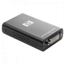 Hewlett Packard (HP) - NL571AT - HP USB to DVI Graphics Multiview Adapter- Smart Buy - USB