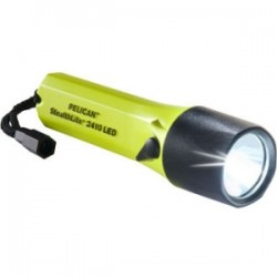 Pelican - 2410-016-245 - Pelican StealthLite 2410 LED Flashlight - AA - EXL Resin - Yellow