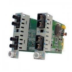 Omnitron - 8660-1 - Omnitron Systems iConverter OC3/STM1 Fiber Converter - 1 x ST , 1 x ST - OC-3, OC-3 - Rack-mountable