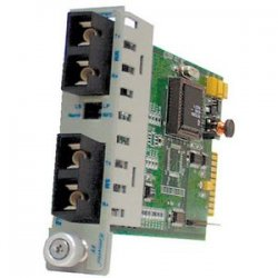 Omnitron - 8661-1 - Omnitron Systems iConverter OC3FF MM to SM Managed Media Converter - 1 x SC , 1 x SC - OC-3, OC-3