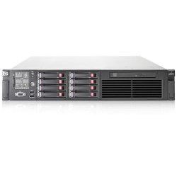Hewlett Packard (HP) - AX693A - HP ProLiant DL380 G6 2U Rack Server - 2 x Intel Xeon E5540 2.53 GHz - 2 Processor Support - 8 GB Standard, 192 GB DDR3 SDRAM Maximum RAM - 1.20 TB HDD - Serial Attached SCSI (SAS) RAID Supported Controller - Gigabit