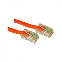 C2G (Cables To Go) - 26704 - 14ft Cat5E Non-Booted Crossover Unshielded (UTP) Network Patch Cable - Orange - Category 5e for Network Device - RJ-45 Male - RJ-45 Male - Crossover - 14ft - Orange