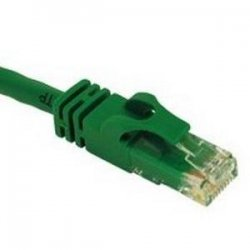 C2G (Cables To Go) - 31354 - C2G 35ft Cat6 Snagless Unshielded (UTP) Network Patch Cable - Green - RJ-45 Male - RJ-45 Male - 35ft - Green