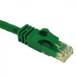 C2G (Cables To Go) - 27175 - C2G-25ft Cat6 Snagless Unshielded (UTP) Network Patch Cable - Green - Category 6 for Network Device - RJ-45 Male - RJ-45 Male - 25ft - Green