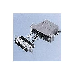 Digi International - 76000672 - Digi RJ45 to DB-25 Console Adapter - 8 Pack - 1 x RJ-45 Male - 1 x DB-25 Male