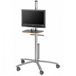 Bretford - FPP72V200 - Bretford Flat Panel Monitor Cart - Aluminum - Aluminum