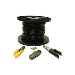 C2G (Cables To Go) - 29834 - C2G 250ft RG6 Dual Shield Coaxial Cable Installation Kit