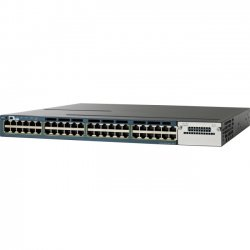 Cisco - WS-C3560X-48T-S-RF - Cisco Catalyst WS-C3560X-48T-S Layer 3 Switch - Refurbished - 48 x Gigabit Ethernet Network - Manageable - 3 Layer Supported - 1U High