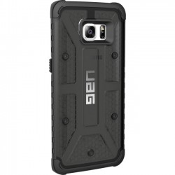 Urban Armor Gear - GLXS7EDGE-ASH - Urban Armor Gear Ash Case for Galaxy S7 Edge - Smartphone - Ash, Black - Rubberized