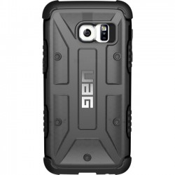 Urban Armor Gear - GLXS7-ASH - Urban Armor Gear Ash Case for Galaxy S7 - Smartphone - Ash, Black - Rubberized