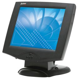 3M - 11-81375-227 - 3M MicroTouch M150 High Brightness Touch Screen Monitor - 15 - Capacitive - Black
