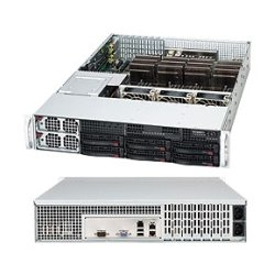 "Supermicro - CSE-828TQ-R1400LPB - Supermicro SuperChassis SC828TQ-R1400LPB Rackmount Enclosure - Rack-mountable - Black - 2U - 6 x Bay - 3 x Fan(s) Installed - 2 x 1.40 kW - EATX Motherboard Supported - 52.40 lb - 6 x External 3.5"" Bay - 7x Slot(s)"