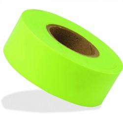 IRWIN Industrial Tool - 65604 - Strait-Line Flagging Tape - 1.19 Width x 50 yd Length - Polyvinyl Chloride (PVC), Vinyl - 1 Roll - Lime