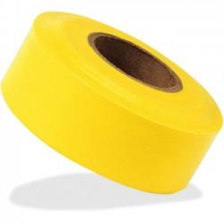IRWIN Industrial Tool - 65905 - Strait-Line 2 mil Yellow Flagging Tape - 1.19 Width x 100 yd Length - Polyvinyl Chloride (PVC), Vinyl - 1 Roll - Yellow