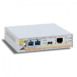 Allied Telesis - AT-MC103XL-10 - Allied Telesis AT-MC103XL Media Converter - 1 x RJ-45 , 1 x SC - 100Base-TX, 100Base-FX