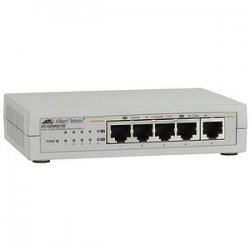 Allied Telesis - AT-GS900/5E-10 - Allied Telesis AT-GS900/5E Unmanaged Gigabit Ethernet Switch - 5 x 10/100/1000Base-T