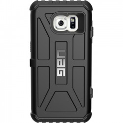 Urban Armor Gear - GLXS7-T-BLK - Urban Armor Gear Black Tooper Series Galaxy S7 - Smartphone - Black - Rubberized