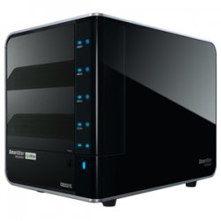 Promise Technology - NS4600P - Promise 4-Drive NAS with 10/100/1000 Ethernet connectivity RAID 0, 1, 5, 10, 5 hot-spare and 3G HDD support - Intel 600 MHz - 4 x Total Bays - 256 MB RAM DDR2 SDRAM - Serial ATA/300 - RAID Supported 0, 1, 5, 10, 5+Hot Spare