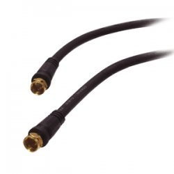 SIIG - CB-CX0212-S1 - SIIG Coaxial Cable - F Connector Male Antenna - F Connector Male Antenna - 25ft